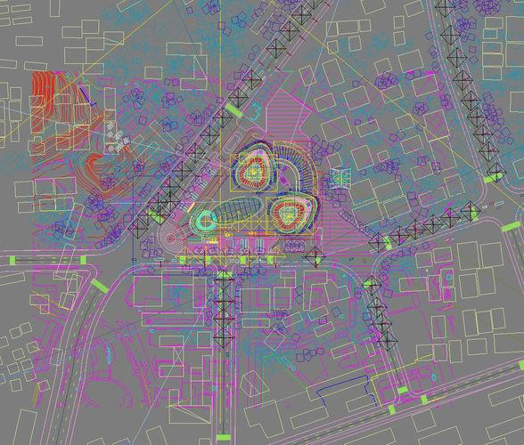 city scene 017 3d model max 5