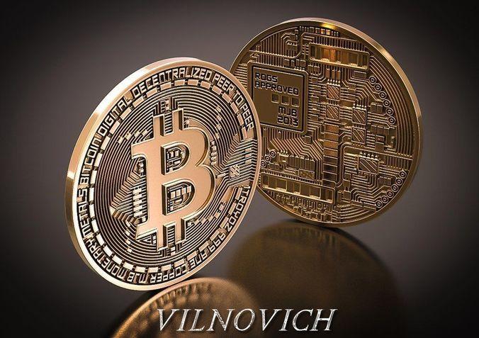 bitcoin 3d model fbx stl 3dm 1