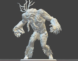 3D printable model MAN THING toy soldier figure