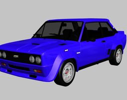 FIAT 131 Abarth Rally Stradale 3D model