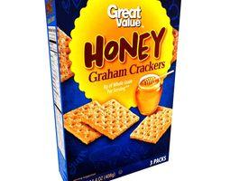 3D model Great Value Honey Graham Crackers 3 Packs 14