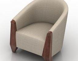 Modern armchair2 3D