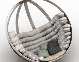 3D Modern armchair11