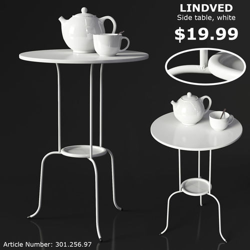 IKEA LINDVED Table 3D model   CGTrader