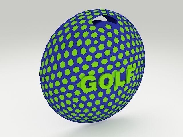 Golf Bag Tag 2