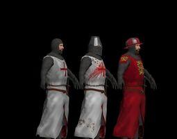 Knights 3D asset