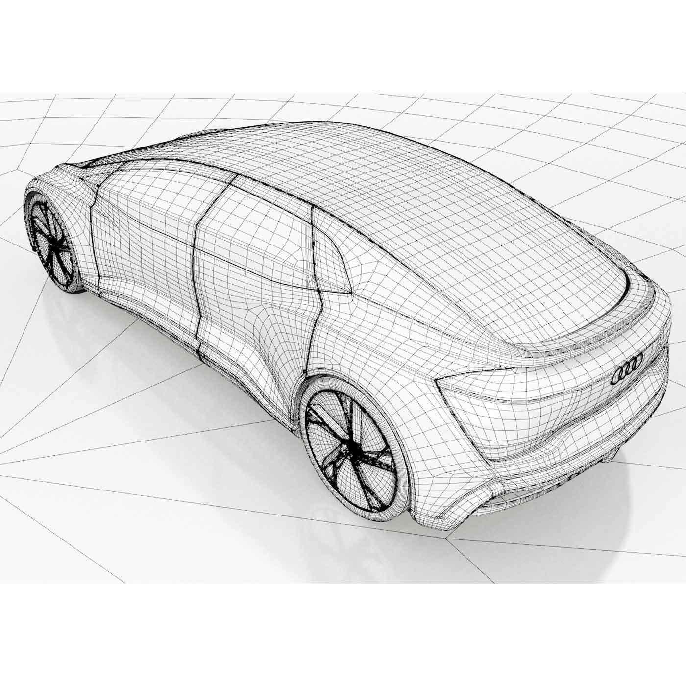 D Audi Aicon CGTrader - Audi list