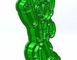 Paw Patrol 3d print cookie cutters model