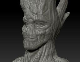 Groot resculpt HD 52mb 3D print model