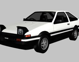 Toyota Sprinter Trueno GT Apex 3D asset