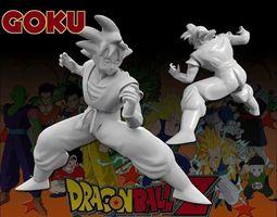 3D printable model Goku Sculpt
