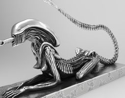 Alien HR Giger sci-fi Model