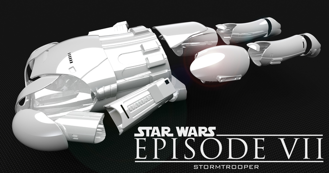tfa stormtrooper 3d model stl 1