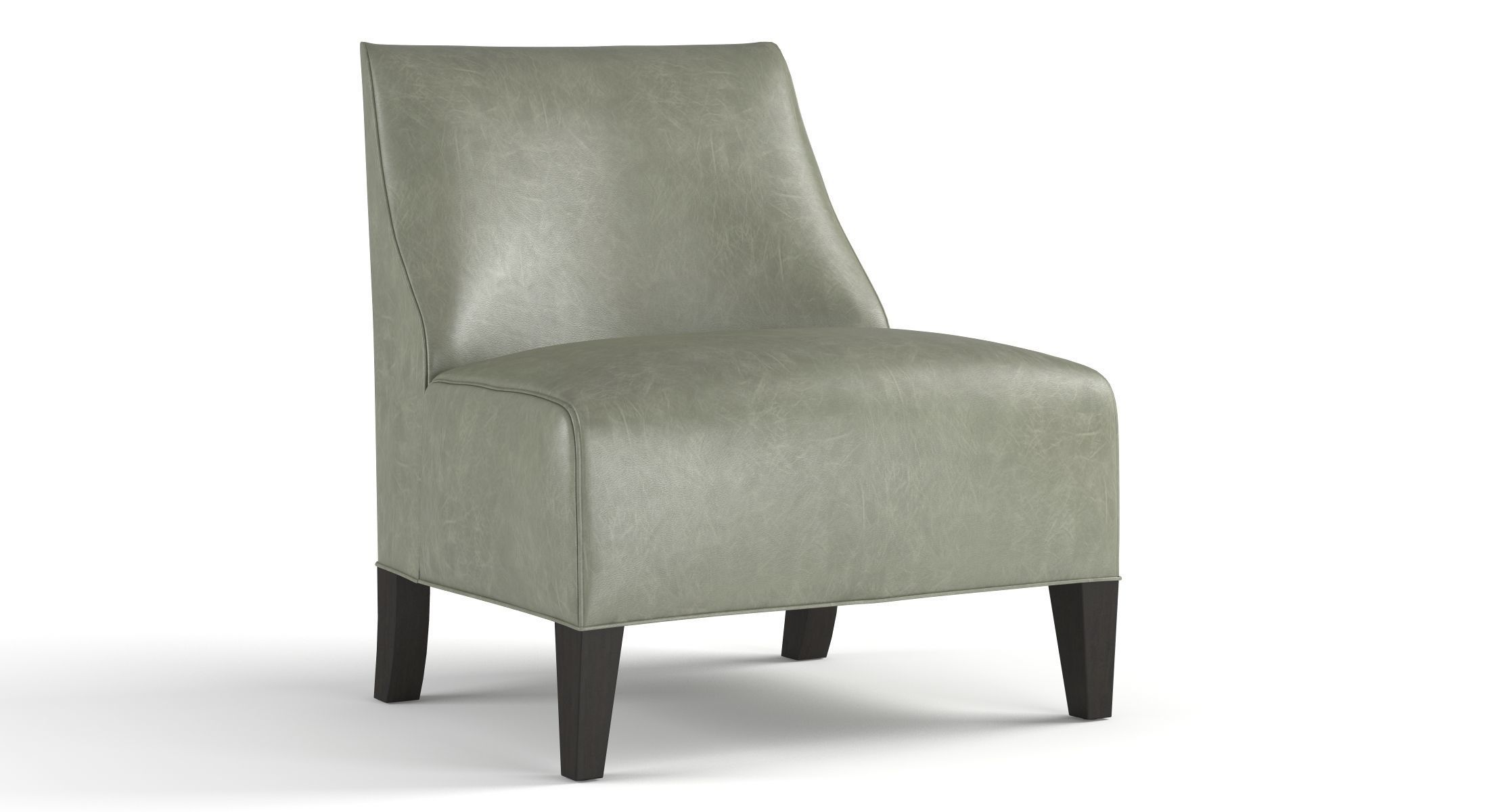 Mitchell Gold Iris Leather Chair 3D