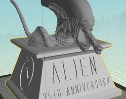 Alien 35th Anniversary Bust 3D printable model