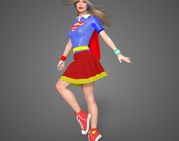 Supergirl DC Superhero Girls 3D