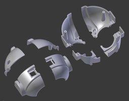3D print model Rapiro - Cut down