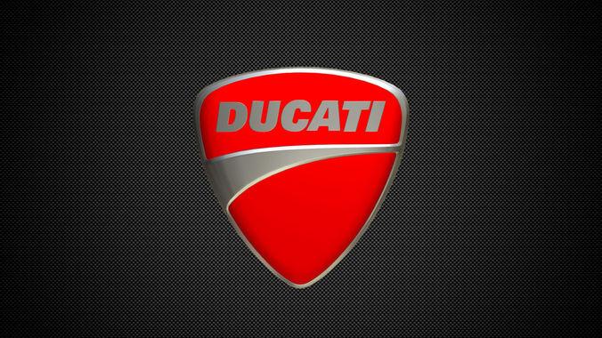 Ducati Logo 3d Model