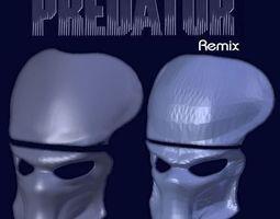 3D print model Predator Mask - HD Remix