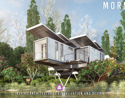 Inspire Architectural Visualization and design 3D model