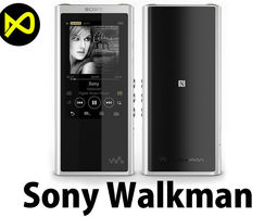Sony Walkman NW-ZX300 MP3 Players 3D model