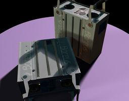 scientific rack harddrive 3d model max