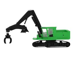 Forestry Swing Machine 3D