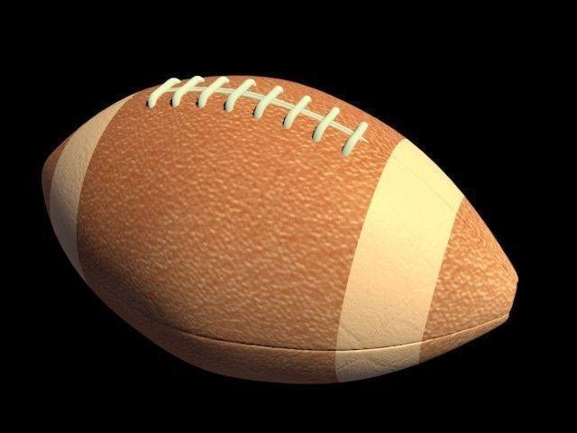 american football 3d model blend 1