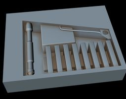 Starship part 39 3D model