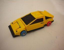 robot car trasformer 3d printable model