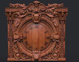 3D print model Clock for cnc