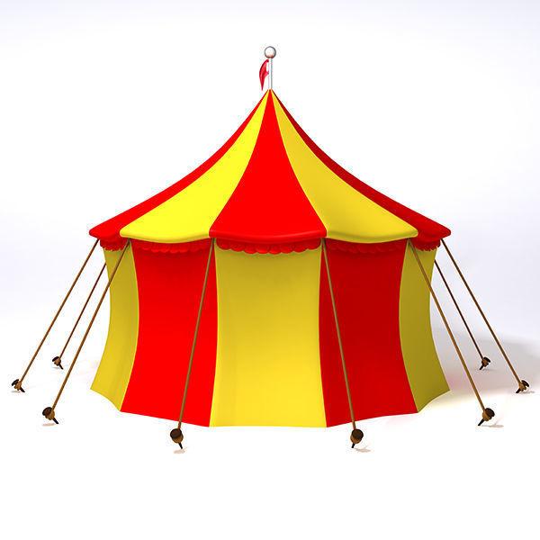 circus tent 3d model max obj fbx ma mb mtl 1 ...  sc 1 st  CGTrader & Circus Tent 3D | CGTrader