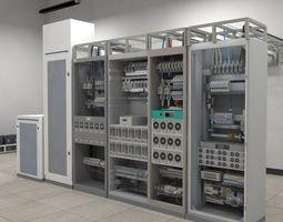 Telecom Power Center Room 3D