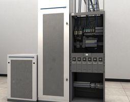 3D Telecom Power Center Room 02