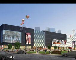 shopping mall  065 3d