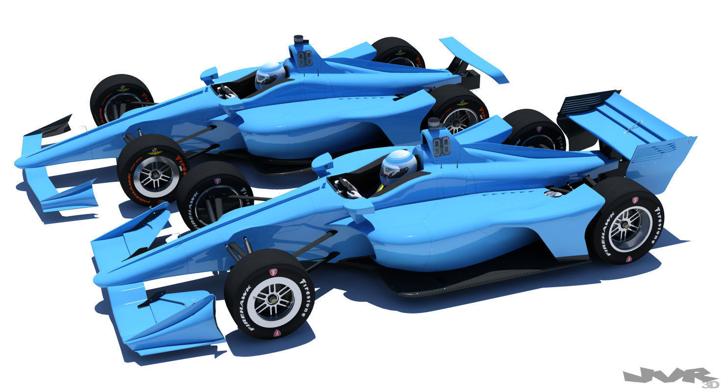 Indycar 2018 - Road and Oval model