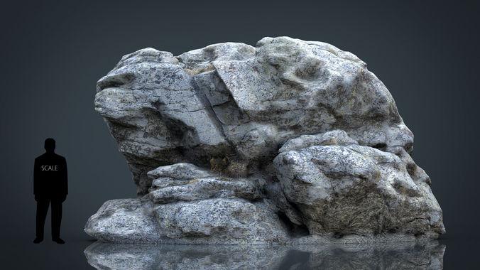 rock 29 3d model max obj mtl fbx ma mb stl 1