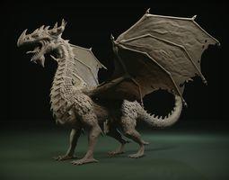 3D model Dragon Zbrush Sculpt