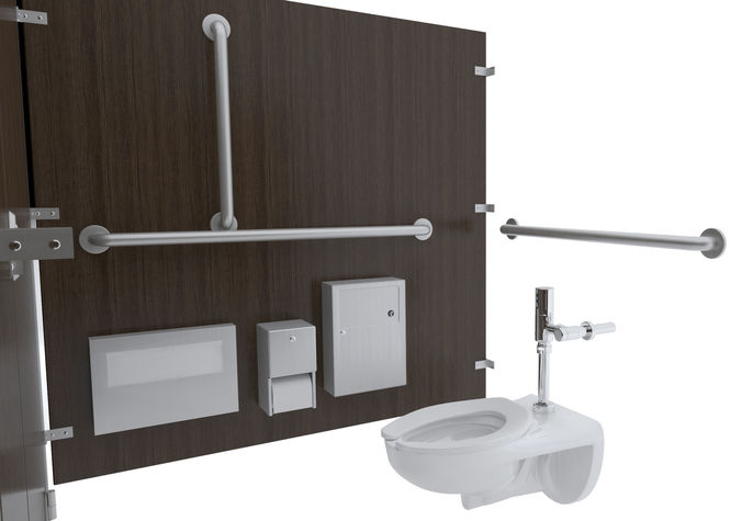 48D Disposal Toilet Stall48B CGTrader Impressive Bathroom Stall Model