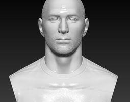 Karim Benzema Real Madrid bust - 3D sculpture