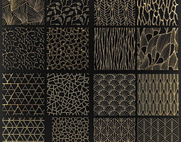 collection of golden lattice 3D