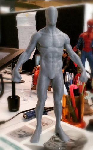 hero figure printable 3d model obj mtl stl 1