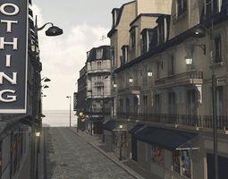European Street for Vue 3D