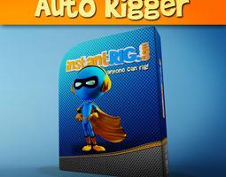 InstantRig Auto Rigger Script for Max 3D model