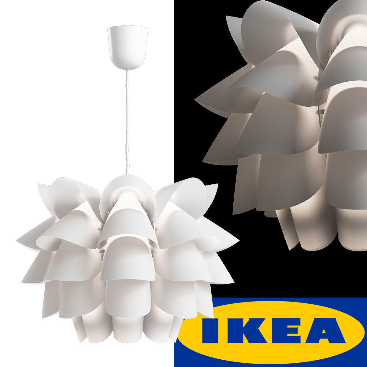 3d ikea knappa pendant lamp cgtrader ikea knappa pendant lamp 3d model max 1 mozeypictures Image collections