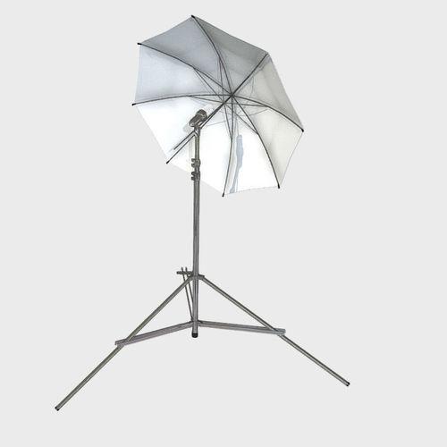 Low Poly PBR Umbrella Light
