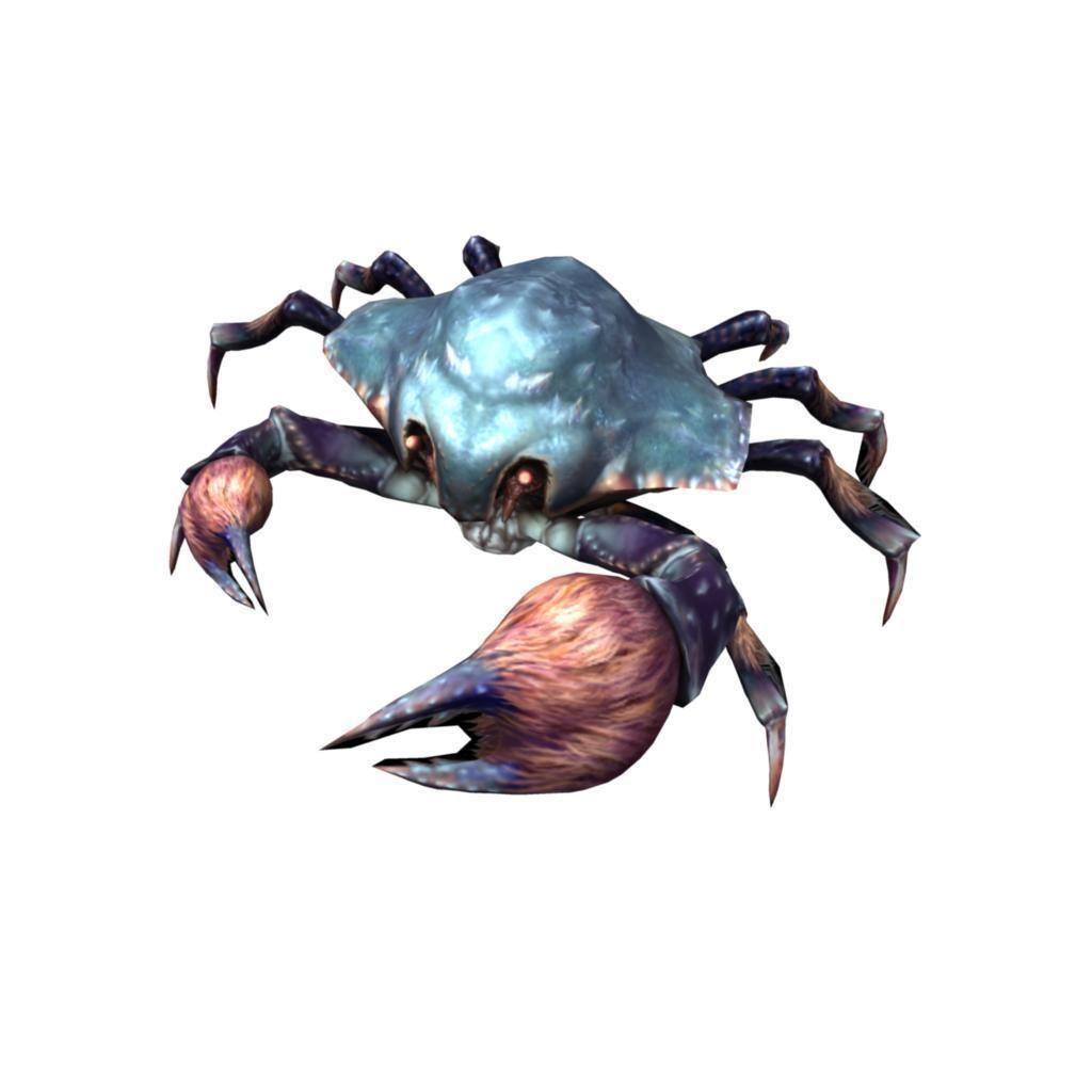 Rigged Crab