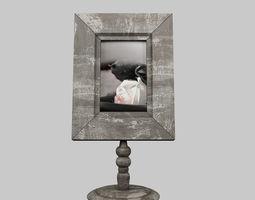 3D Vintage Picture Frame