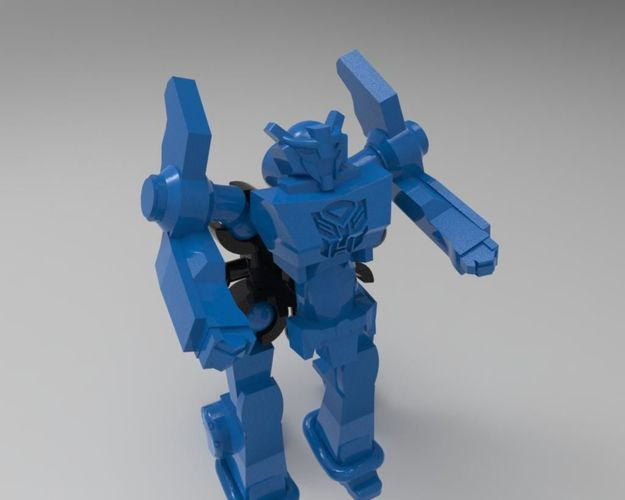 Transformers Robots in disguise from kinder toy