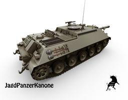 JagdPanzerKanone 90mm 3D